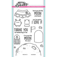 Heffy Doodle - Clear Photopolymer Stamps - You're Weird