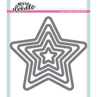 Heffy Doodle - Cutting Dies - Stitched Stars