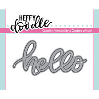Heffy Doodle - Heffy Cuts - Dies - Hello
