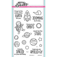 Heffy Doodle - Clear Photopolymer Stamps - Spaced Out