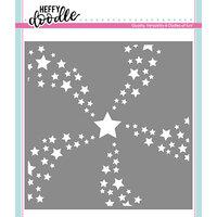 Heffy Doodle - Stencil - Star Swirl