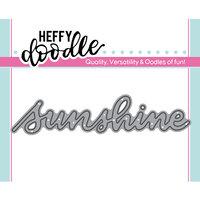 Heffy Doodle - Heffy Cuts - Dies - Sunshine