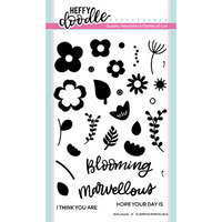 Heffy Doodle - Clear Photopolymer Stamps - Blooming Marvelous