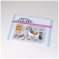 Heffy Doodle - Clear Photopolymer Stamps - Hay There