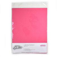Heffy Doodle - 8.5 x 11 Cardstock - Razzleberry - 10 Pack