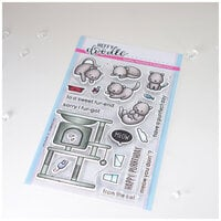 Heffy Doodle - Clear Photopolymer Stamps - Purrfect Day