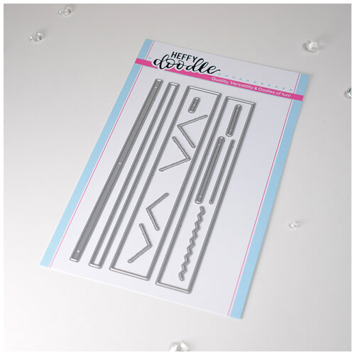 Heffy Doodle - Cutting Dies - More Strips Of Ease