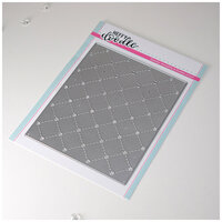 Heffy Doodle - Cutting Dies - Quilted Heart Background