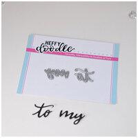 Heffy Doodle - Heffy Cuts - To My