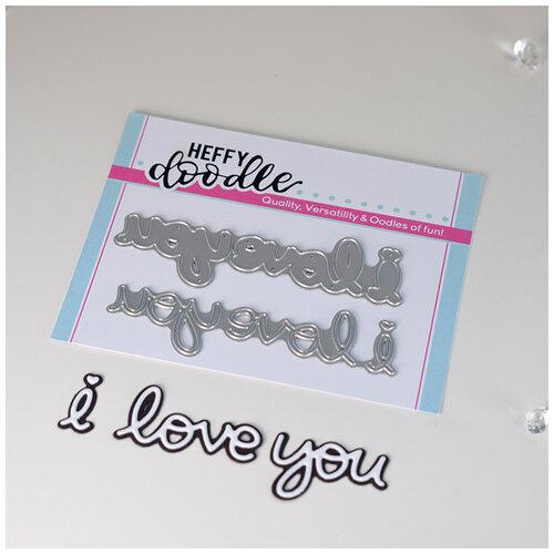 Heffy Doodle - Heffy Cuts - Dies - I Love You Shadow