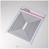Heffy Doodle - Cutting Dies - Skinny Imperial Rectangle Frames