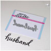 Heffy Doodle - Heffy Cuts - Dies - Husband
