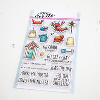 Heffy Doodle - Clear Photopolymer Stamps - A Little Shellfish
