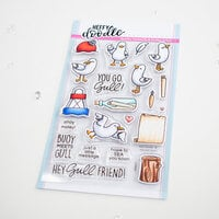 Heffy Doodle - Clear Photopolymer Stamps - You Go Gull