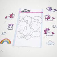 Heffy Doodle - Cutting Dies - Fluffy Puffy Unicorns