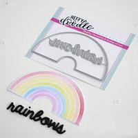 Heffy Doodle - Cutting Dies - Rainbow Builder