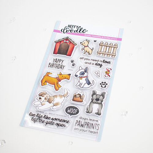 Heffy Doodle - Clear Photopolymer Stamps - Who Let the Dogs Out