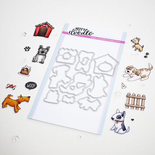 Heffy Doodle - Cutting Dies - Who Let the Dogs Out