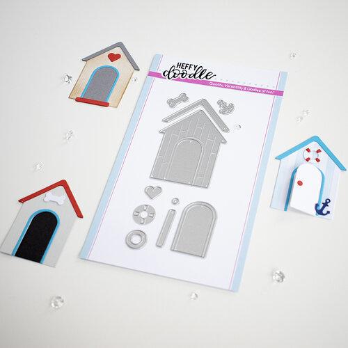 Heffy Doodle - Cutting Dies - Build A Cabin