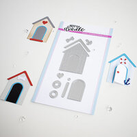 Heffy Doodle - Cutting Dies - Build A Cabin