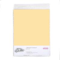 Heffy Doodle - 8.5 x 11 Colored Cardstock - Butterscotch