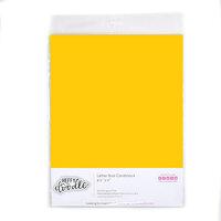 Heffy Doodle - 8.5 x 11 Colored Cardstock - Sunny Side Up