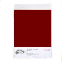 Heffy Doodle - 8.5 x 11 Colored Cardstock - Merlot