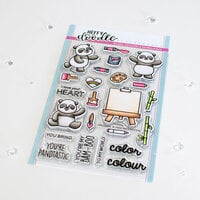 Heffy Doodle - Clear Photopolymer Stamps - Pandtastic Painters