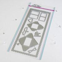 Heffy Doodle - Dies - Slimline - Mini Mail