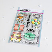 Heffy Doodle - Clear Photopolymer Stamps - Popping By