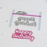 Heffy Doodle - Shadow Heffy Cuts - Dies - Happy Birthday Shadow