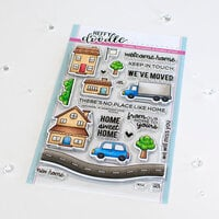 Heffy Doodle - Clear Photopolymer Stamps - Home Sweet Home