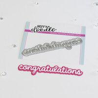 Heffy Doodle - Shadow Heffy Cuts - Dies - Congratulations