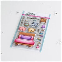 Heffy Doodle - Clear Photopolymer Stamps - Bed Heads
