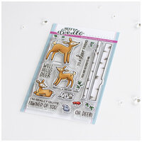 Heffy Doodle - Clear Photopolymer Stamps - Deer To Me