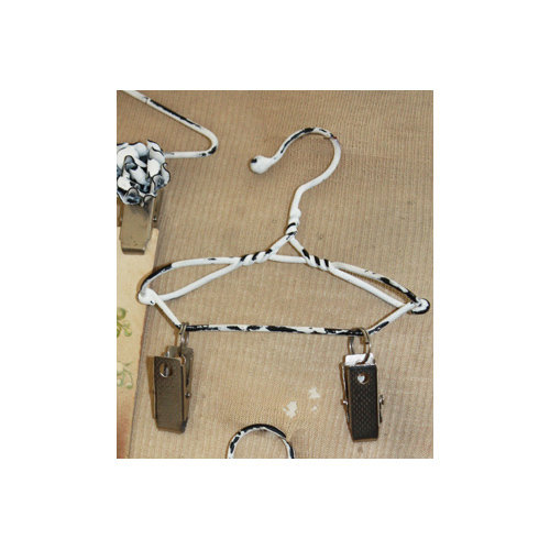 Melissa Frances - Mini Metal Hangers - Clip - 4 Inch