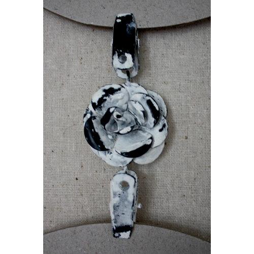 Melissa Frances - Double Metal Connecter - Flower Clip