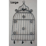 Melissa Frances - Birdcage Memo Holder - Large