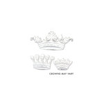 Melissa Frances - Heart and Home - Vintage Resin Applique - Her Majesty Set, CLEARANCE