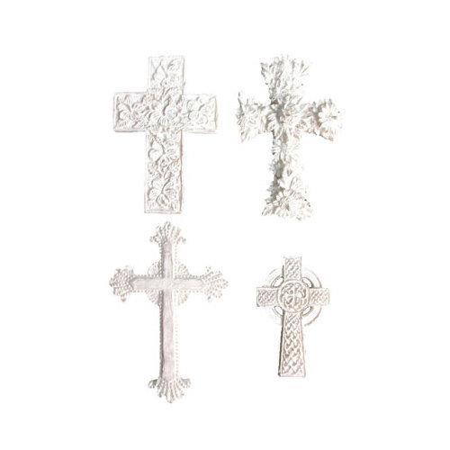 Melissa Frances - Vintage Resin Applique - Cross Collection