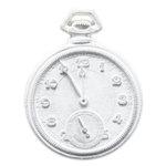 Melissa Frances - Vintage Resin Applique - Pocket Watch