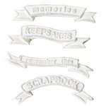 Melissa Frances - Vintage Resin Applique - Banners