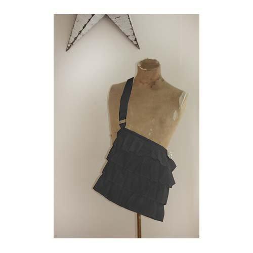 Melissa Frances - Fabric Purse - Black