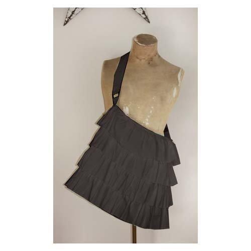 Melissa Frances - Fabric Tote - Black