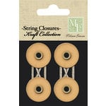 Melissa Frances - Chalk Talk Collection - String Closures - Kraft