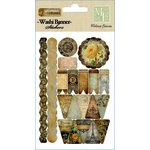 Melissa Frances - Glamour and Grunge Collection - Washi Banners