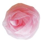Melissa Frances - Vintage Flower - Organza Pink Rose