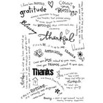 Melissa Frances - Heart and Home - Vintage Rub On Transfers - Thankful