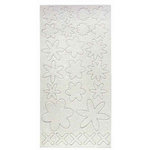 Melissa Frances - Heart and Home - Pop Out Glitter Accents - Flowers, CLEARANCE