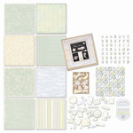 Melissa Frances - Heart and Home - Page Kit - Hush a' Bye Baby Boy, CLEARANCE